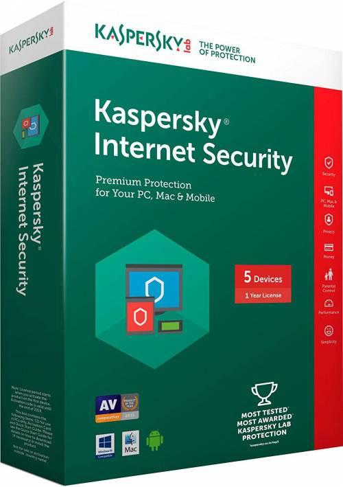 آنتی ویروس کسپرسکای اورجینال Kaspersky internet security 2021